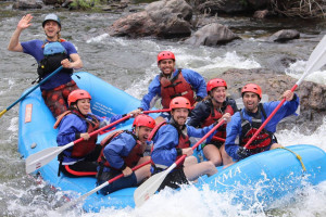 Rocky Mountain Adventures - whitewater fun