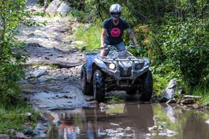 Backbone Adventures - year round rentals :: ATV's, UTV's, Jeeps, dirt bikes, snowmobiles and Razors for adults and kids. Experience the mountains of Estes Park and all its splendor. A unique adventure for families.