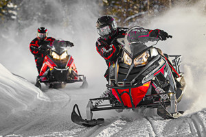 Snowmobile Rentals around Estes Park : Select from half-day or all-day sled rentals, delivered to your preferred trail to take off and ride. Includes riding gear, all-inclusive.