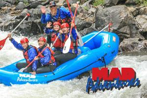 MAD Adventures - whitewater near Estes