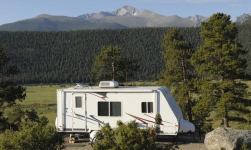 Estes Park Colorado Camping