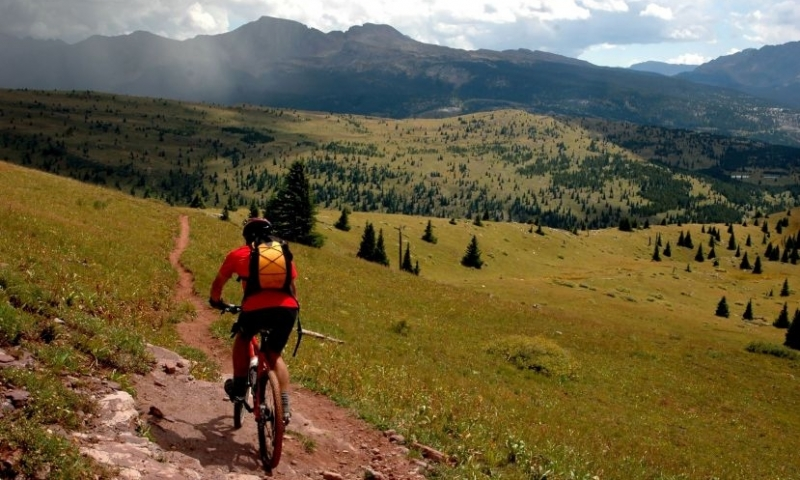 Mountain Biking in the Rockies