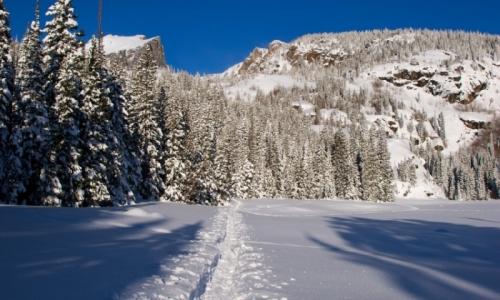 Estes Park Colorado Snowshoeing