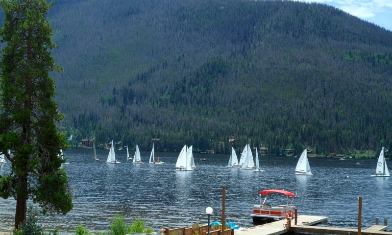 Grand Lake Colorado Sailing Boating