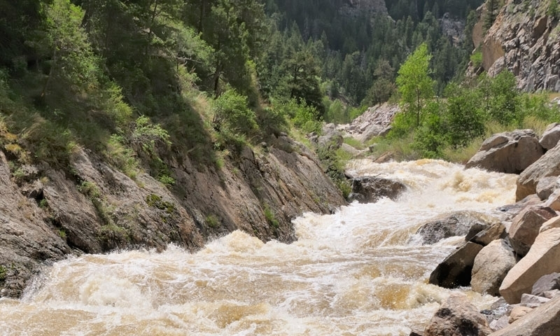 A Raging Big Thompson River