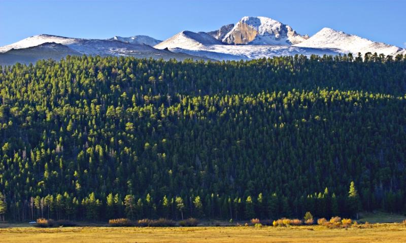 Longs Peak from Moraine Park