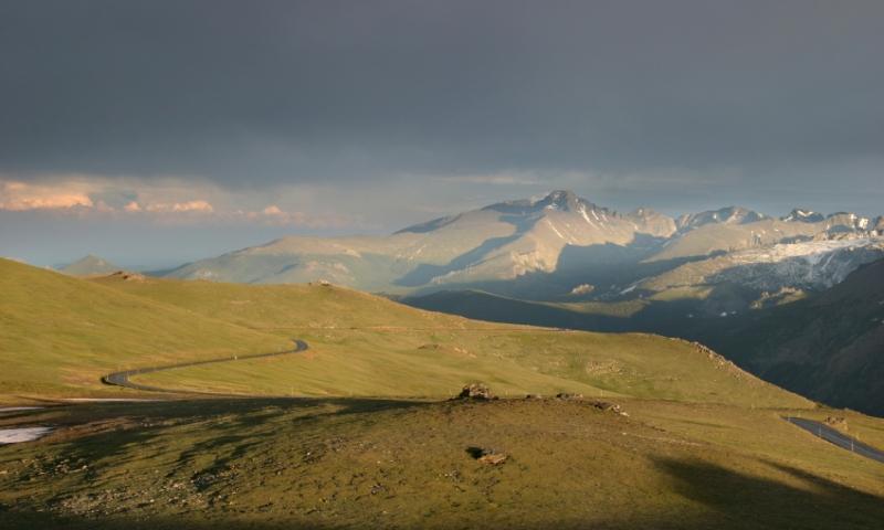 Trail Ridge Road and Longs Peak