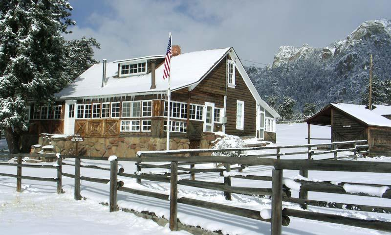 MacGregor Ranch in Winter